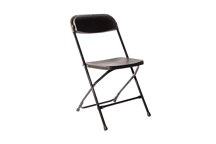 BA-8 Black Folding Chair