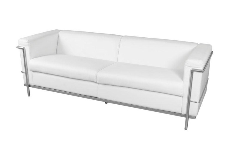 SS-18 Toronto White Sofa Furniture Rental