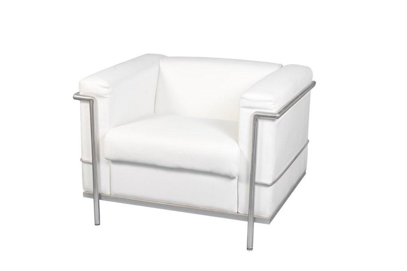 SS-20 Toronto Single White Furniture Rental