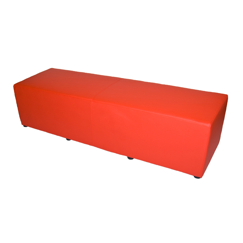SS-49 Contemporary Red Bench Furniture Rental