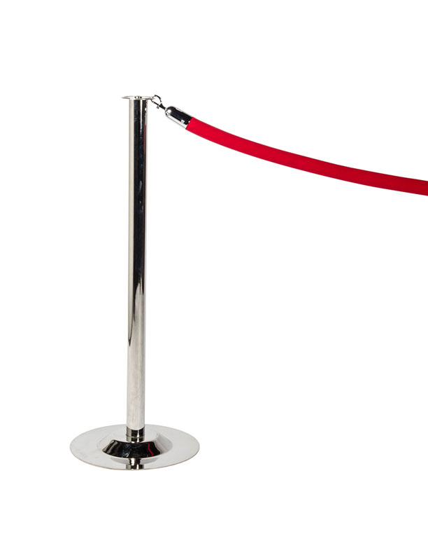 BA-10 Stanchion Red Rope
