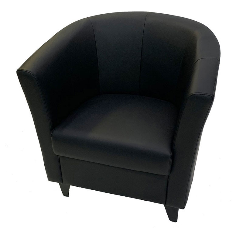 SS-5 Black Rd Stage Chair Furniture Rental