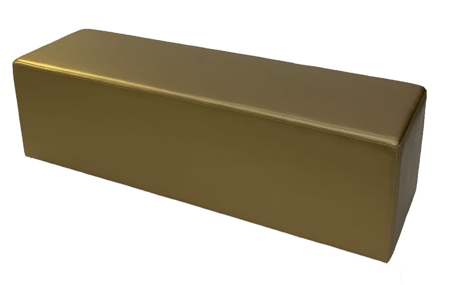 SS-42 Gold Bench Furniture Rental