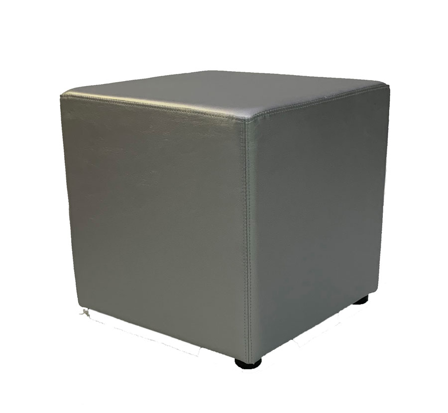 SS-43 Silver Cube Furniture Rental