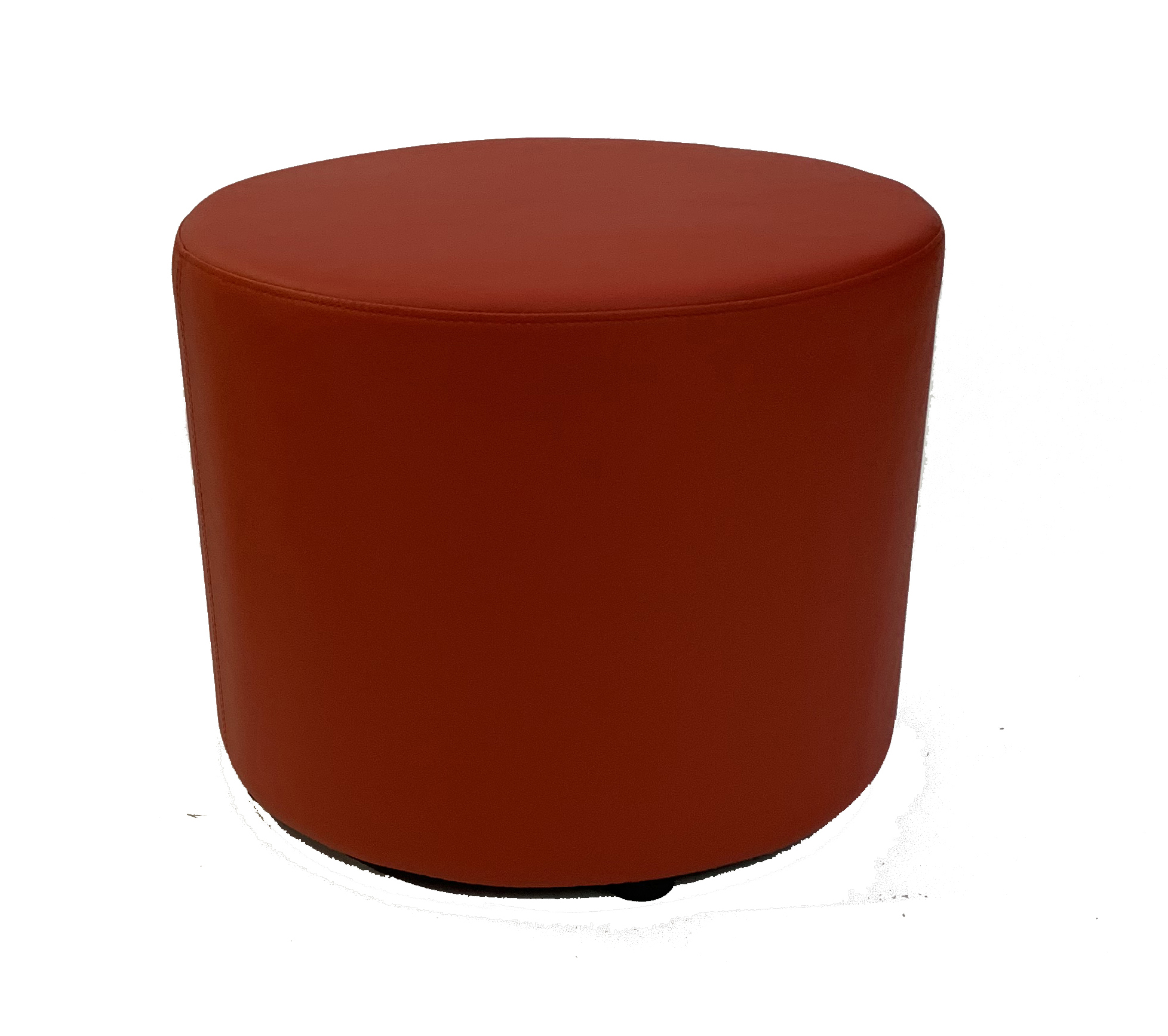 SS-56 Red Round Stool Cube Furniture Rental