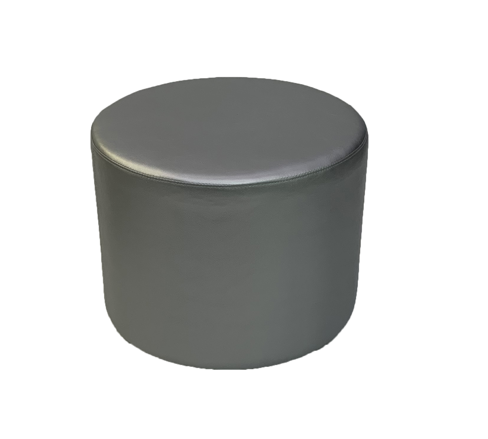 SS-59 Silver Round-Stool Cube Furniture Rental
